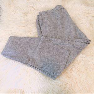 Eileen Fisher Hemp Organic Cotton Striped Pants